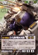 RX-78GP02A - Gundam GP02A (Type-MLRS) - Gundam War Card