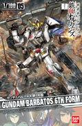 1-100 Gundam Barbatos 6th