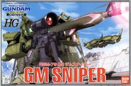 HG - RGM-79(G) - GM Sniper - Boxart