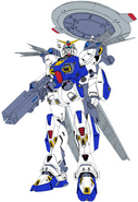 F90E Gundam F90 Electronic Type - 2019 Redesign (Low Quality)