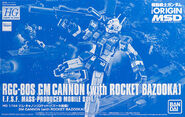 HG GM Cannon (with Rocket Bazooka)