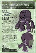 Moon Gundam Mechanical works vol.27 A