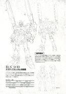 Narrative Gundam B-Packs Lineart and Info