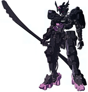 Front (Equipped with Glaive)