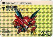 Nrx-0013 SDGundamCarddas