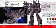 RGM-89De - Jegan (ECOAS Type) - Specs Tech Detail Design