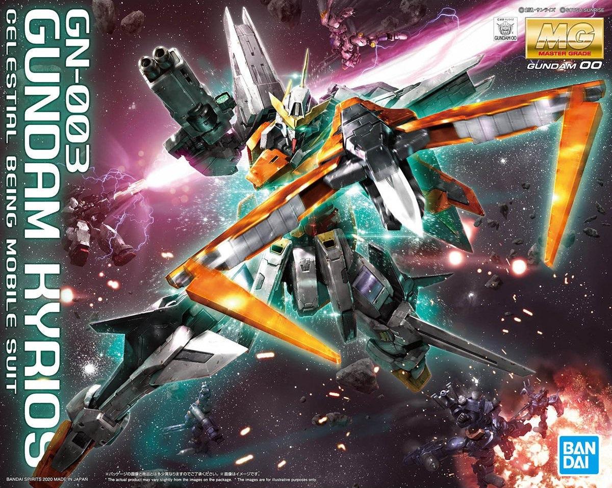 HG Mobile Suit Gundam 00 1//144 Gundam Kyrios Plastic Model