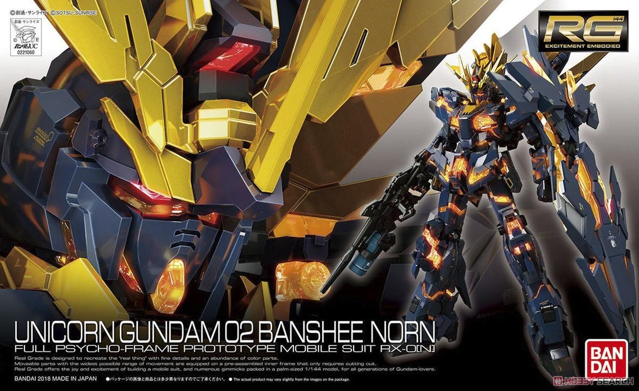 N Unicorn Gundam Unit 2 Banshee Norn 1//60 Scale PG Mobile Suit Gundam UC RX-0