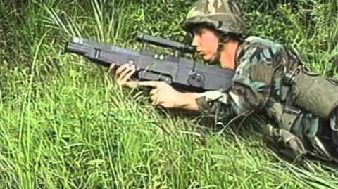 Advanced Combat Rifle 1990 US Army Search for M16 Replacement