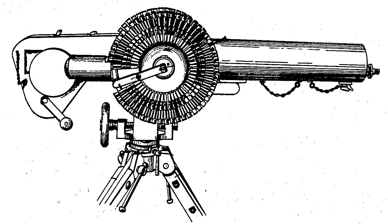 Caldwell machine gun