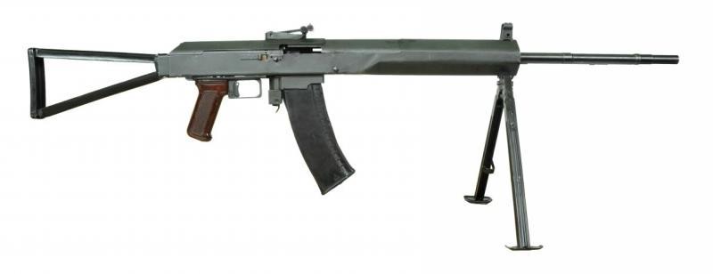 Nikonov machine gun