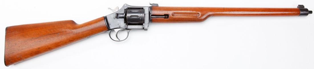 Pieper revolving carbine