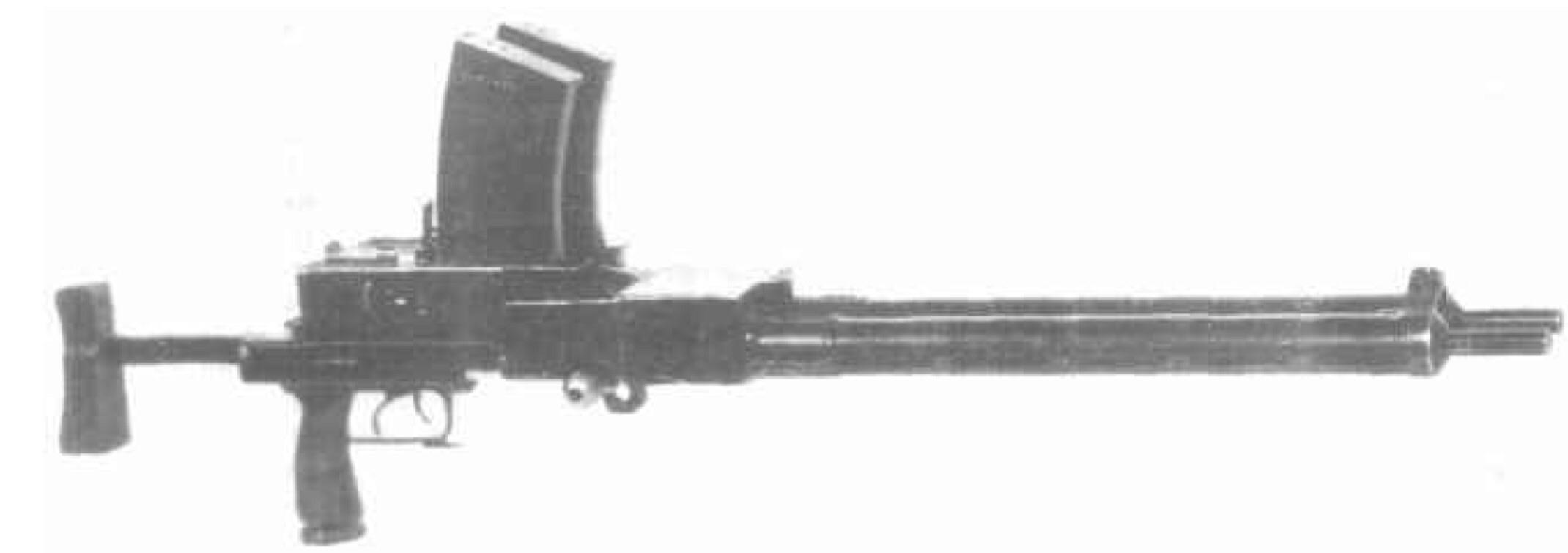 Fedorov-Shpagin Model 1922