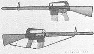 ArmaLite AR-10 standard