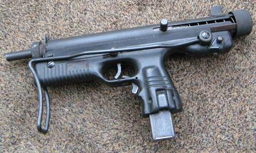 Land defence pistol