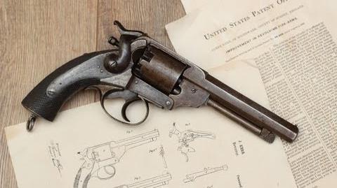 Shooting a Civil War Kerr percussion revolver