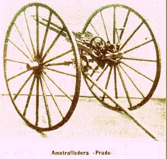 Prado machine gun