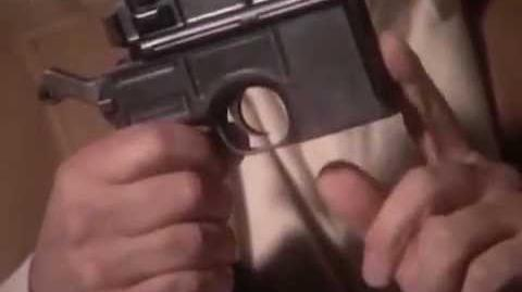 Mauser C96 semi-automatic pistol