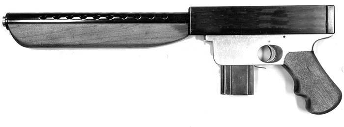 Howlett machine pistol