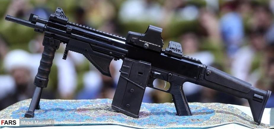 Zulfiqar battle rifle
