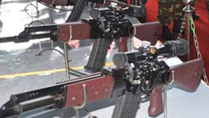 MAS sniper rifle