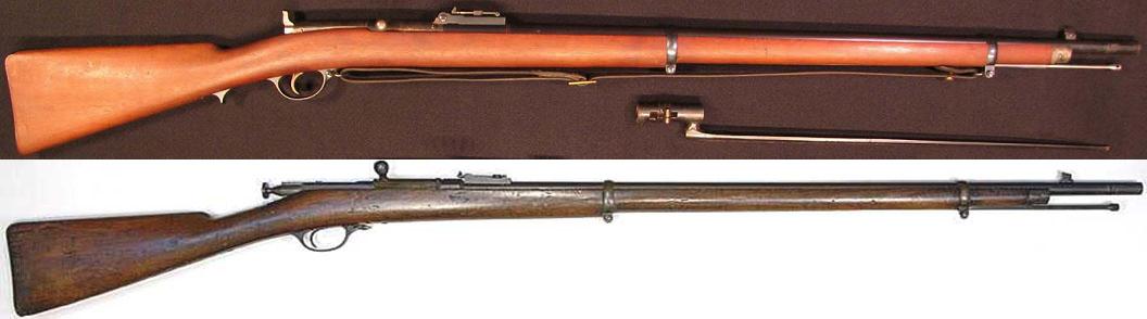 Berdan rifle