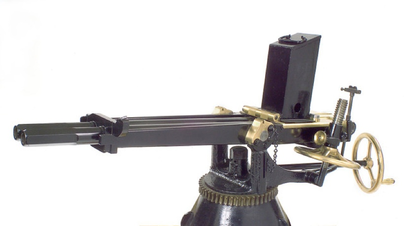 1-inch Nordenfelt gun