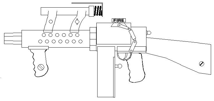 Kerfoot machine gun