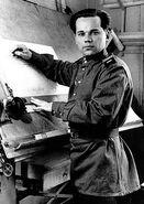 Young Mikhail Kalashnikov