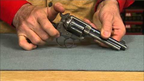 The Colt Model 1877 Lightning Double Action Revolver