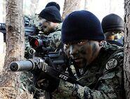 South Korean Commandos K7