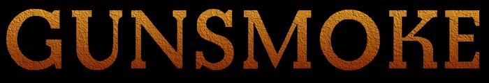Gunsmoke TV series logo-Black trim-Cement texture.png
