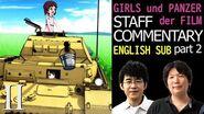 (ENG SUB) Girls und Panzer der FILM - Staff Commentary part2