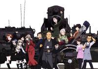 Japanese Senshado Federation Team