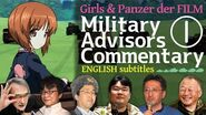 (ENG SUB) GuP der FILM - Military Advisors Commentary part1