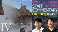 (ENG SUB) Girls und Panzer der FILM - Staff Commentary part4