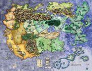 Banestorm world map