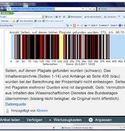 GuttenPlag Analyse 21-02-2011 - 68-Prozent der Seiten betroffen
