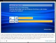 Meinungsmache Report München Infratest Dimap Guttenberg