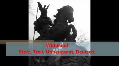 Widukind deutscher Held und Freiheitskämpfer