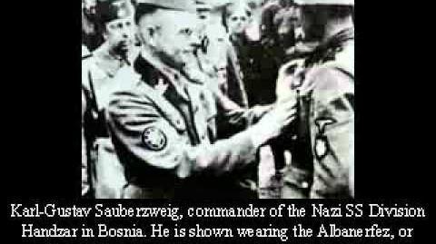 Nazi-Islamist collaboration-Albanian SS Skanderbeg Division
