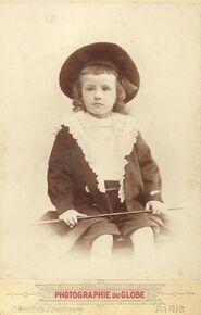 Charles Mast enfant