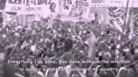 Eva Peron's Final Speech (1951)