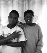 Promoter Musa and Master G 5