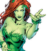 Poison Ivy pelle verde
