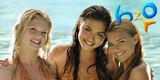 Cleo, Bella, Rikki in the water season 3