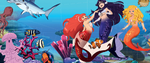 Mermaid Adventures Among Fishes