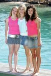 Cariba, Claire and Phoebe
