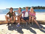Friends in Mako Island