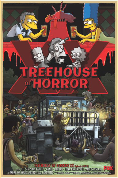 The Simpsons: Treehouse of Horror XX